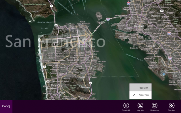 Windows 8 Maps App