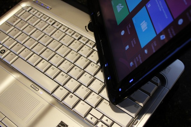windows 8 on a hp tx2500 notebook